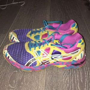 ASICS colorful running sneakers